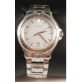 GUCCI GENTS SILVER PRE OWNED USED