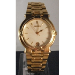 GOLD GUCCI GENTS  PRE OWNED