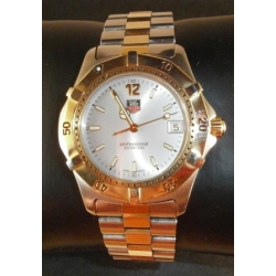 TAG HEUR SILVER AND GOLD 200M PRE OWNED